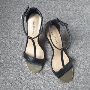 Black Sandal Heels